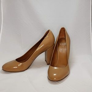 Franco Sarto Patent Leather Heels Size 7